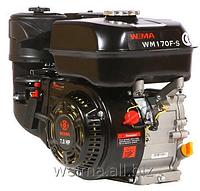 Бензиновый двигатель Weima WM170F-S NEW (шпонка, вал 20 мм), бенз 7.0 л.с. для мотоблоков