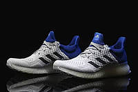 Кроссовки мужские Adidas Ultra Boost FutureCraft 3D White Blue. интернет магазин адидас, адидас ультра буст