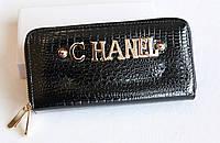 Лакированный кошелекдвойной -CHANEL