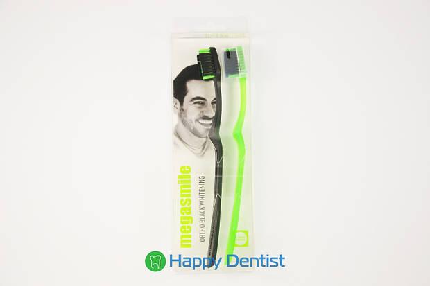 BLACK WHITENING ORTHO зубная щетка (при наличии ортодонтических конструкций)