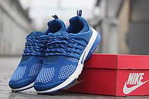 Мужские кроссовки Nike air presto,текстиль,сетка светло синие 41р, фото 3