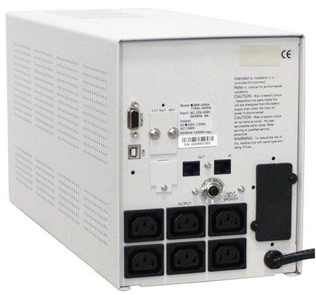 Источник бесперебойного питания Powercom SMK-1250A-LCD, фото 2