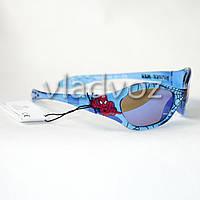 Детские солнцезащитные очки для мальчика 5-8 лет Человек паук от Marwel