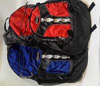 Спортивный рюкзак Huasion+провод мр3+дождевик синий, красный