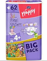 Подгузники Bella Baby Happy 4+ Maxi Plus (9-20 кг) 62 шт.