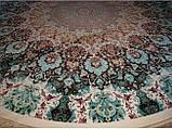 Круглый иранский ковер с мелким классическим рисунком, фото 4