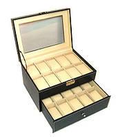 Большая шкатулка для часов и браслетов 24 ячейки Rothenschild