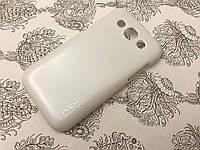 Пластиковый чехол накладка Rock для Samsung Galaxy Win Duos I8552 белый