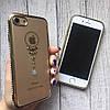 Силиконовый чехол с узорами и стразами для iPhone 7, фото 6