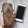 Силиконовый чехол с узорами и стразами для iPhone 7, фото 7