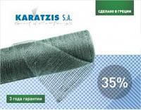 Сетка затеняющая, 35% (2м*50м)  для теплиц, навесов, заборов