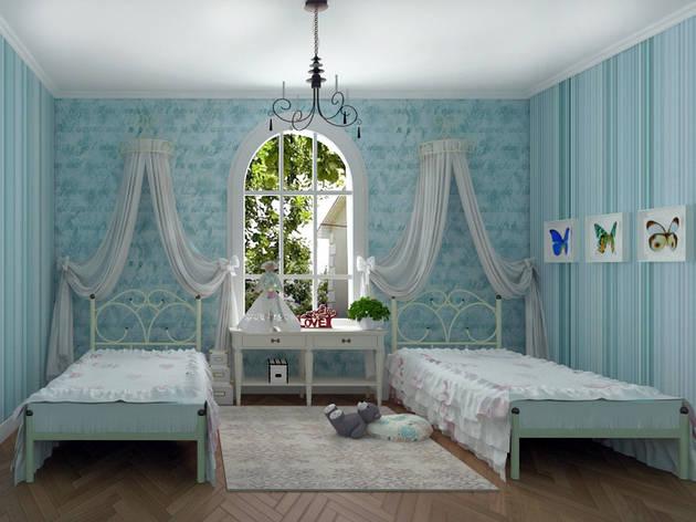 Металлическая кровать Каролина ТМ Скамья, фото 2