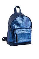 553290 Сумка-рюкзак, cиня, 32*23*11