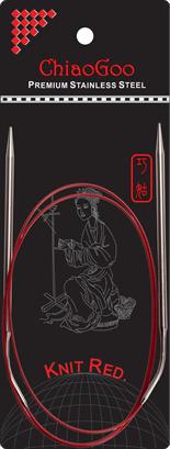 Спицы   круговые 6.0-100 см.Knit Red ChiaoGoo