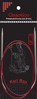 Спицы   круговые 2.75-100 см.Knit Red ChiaoGoo