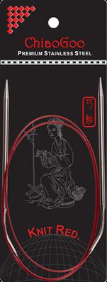 Спицы   круговые 4.0-100 см.Knit Red ChiaoGoo
