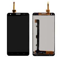 Дисплей (экран) для Huawei G750 Ascend Honor 3X + с сенсором (тачскрином) черный