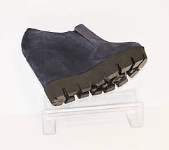 Женские синие ботинки Guero 3518, фото 2