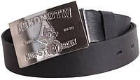 Кожаный ремень  для мужчин с прямоугольной пряжкой Topgal blx90279 ДхШ: 130х4 см, черный