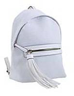 553970 Сумка-рюкзак, біла велика, 31*22*13