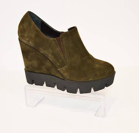 Женские  ботинки хаки Guero 3518, фото 2