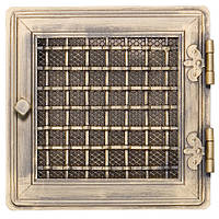 Вентиляционная решетка для камина Parkanex, Stylowa - золотая патина
