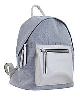 553982 Сумка-рюкзак, срібло, 36*23*19