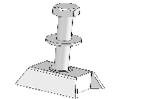 Комплект кріплення для 1 лапи верстата до бетонної решітки Д-обр. (для верстата мод.20 по 4шт. на 1 лапу)