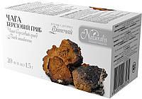 Чага (березовый гриб) 20 фильтр-пакетов по 1.5г. Измельченная, сушеная. Доставка в Ваш город 2 дня.