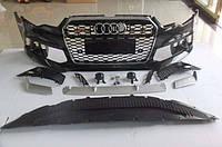 Передний бампер на Audi A6 C7 (2012-...), фото 1