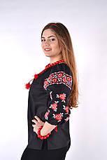 Женская вышиванка отличного качеста (штапель), фото 2