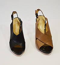 Женские черные босоножки Bootes 273-522, фото 3