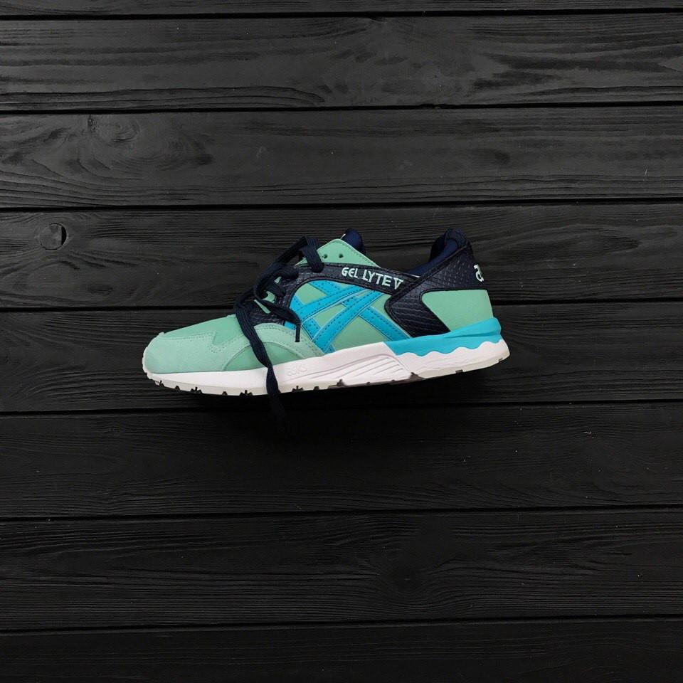 Мужские кроссовки Asics Gel Lyte Blue/Green