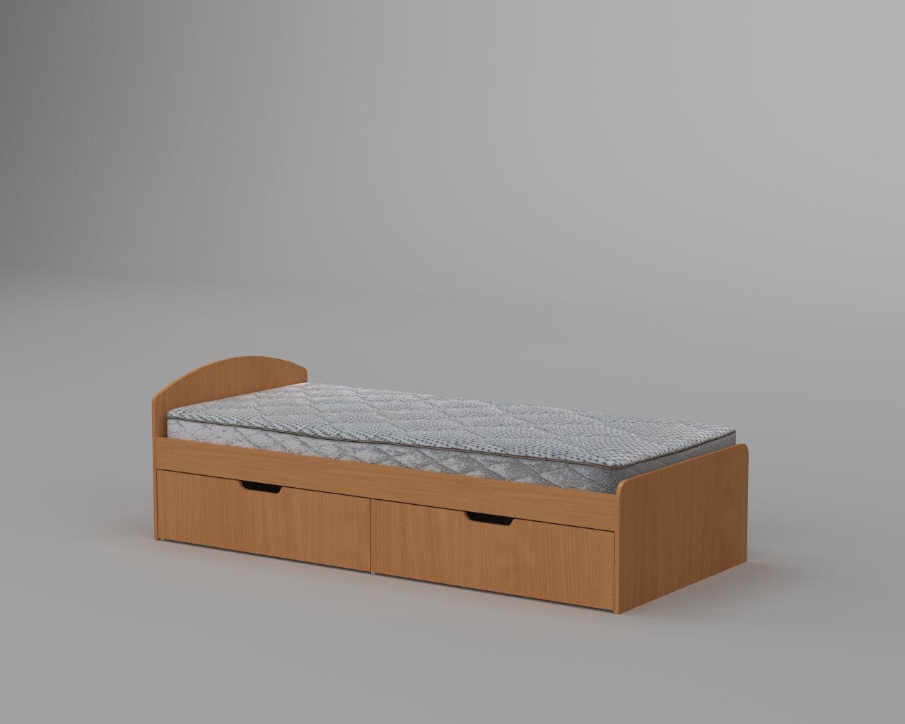 Кровать с ящиками 90+2 (Компанит)