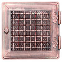 Вентиляционная решетка для камина Parkanex, Stylowa - медная патина