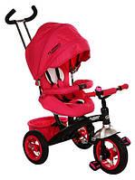 Велосипед детский трехколесный Turbo Trike с поворотным сиденьем M 3195-1A Розовый
