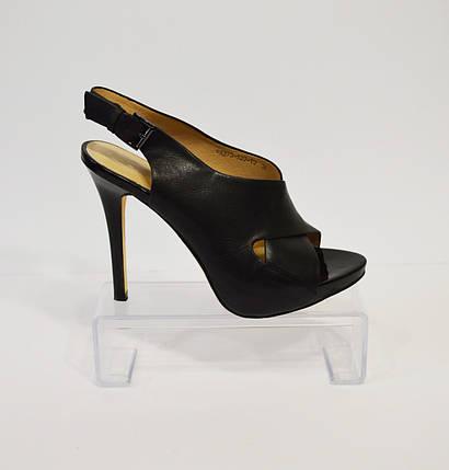 Женские черные босоножки Bootes 273-522, фото 2