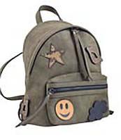 553985 Сумка-рюкзак, хакі, 28*23*15