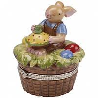 Villeroy & Boch  Spring Decoration Treat Egg basket, boy 7cm  декорація