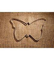 Каттер металл для имбирных пряников Бабочка