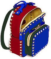 554099 Сумка-рюкзак, темно синя, 26*9*9