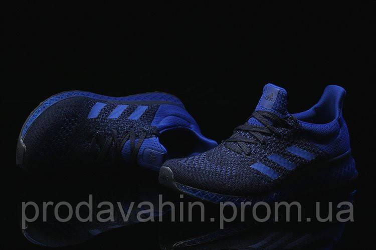 30f58d32 Кроссовки мужские Adidas Ultra Boost FutureCraft 3D Navy Blue. интернет  магазин адидас, адидас ультра