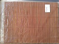 Бамбуковые рулонные шторы соломка 90/160