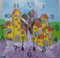 Детские настенные часы «Сказочный город», Funny Animals