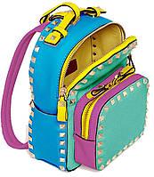 554104 Сумка-рюкзак, кольорова, 26*9*9