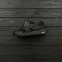 sneakers for cheap 87df3 c8580 Кроссовки в стиле PUMA DISC BLAZE CT BLACK мужские