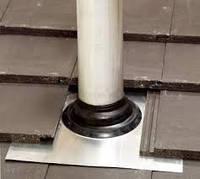 Seldek Aluminium-проходной элемент диаметр трубы 110-200 черный