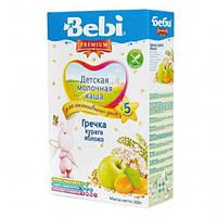 Каша молочная гречневая с курагой и яблоком Bebi Premium