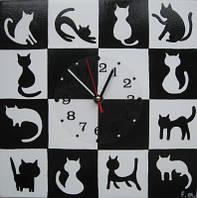 Детские настенные часы «Иллюзия», Funny Animals