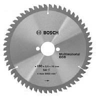 Пильный диск BOSCH ECO 190x30x54T (Алюминий, пластик), 2608644389